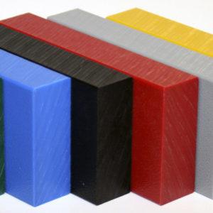 PP - Playtec HDPE Plaat Uni Kleur