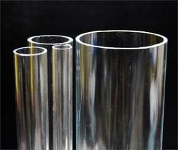 Transparante acrylaat buizen GS (optisch zuiver)