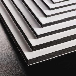 PVC expansé recyclé noyau noir