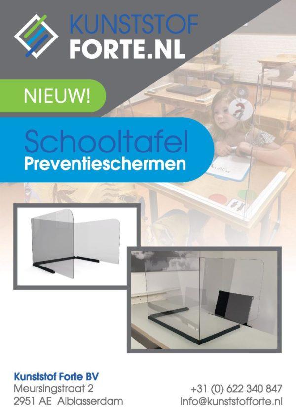 schooltafel scherm
